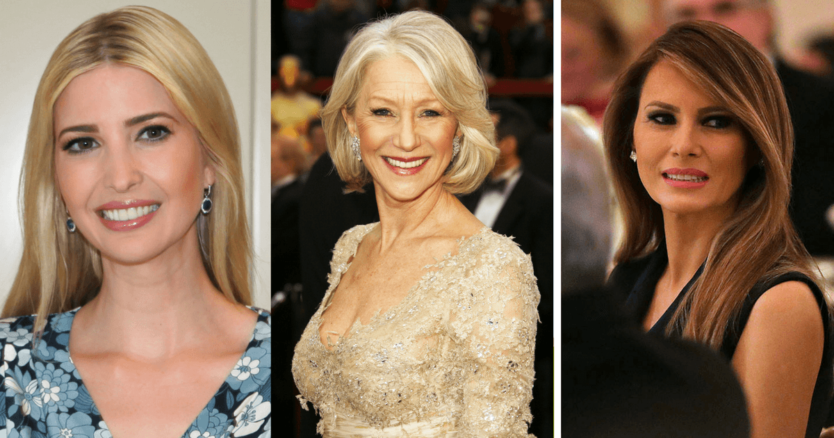 Feminist Actress Helen Mirren On The Warpath Against Ivanka And Melania
