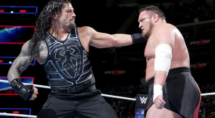 Roman Reigns and Samoa Joe