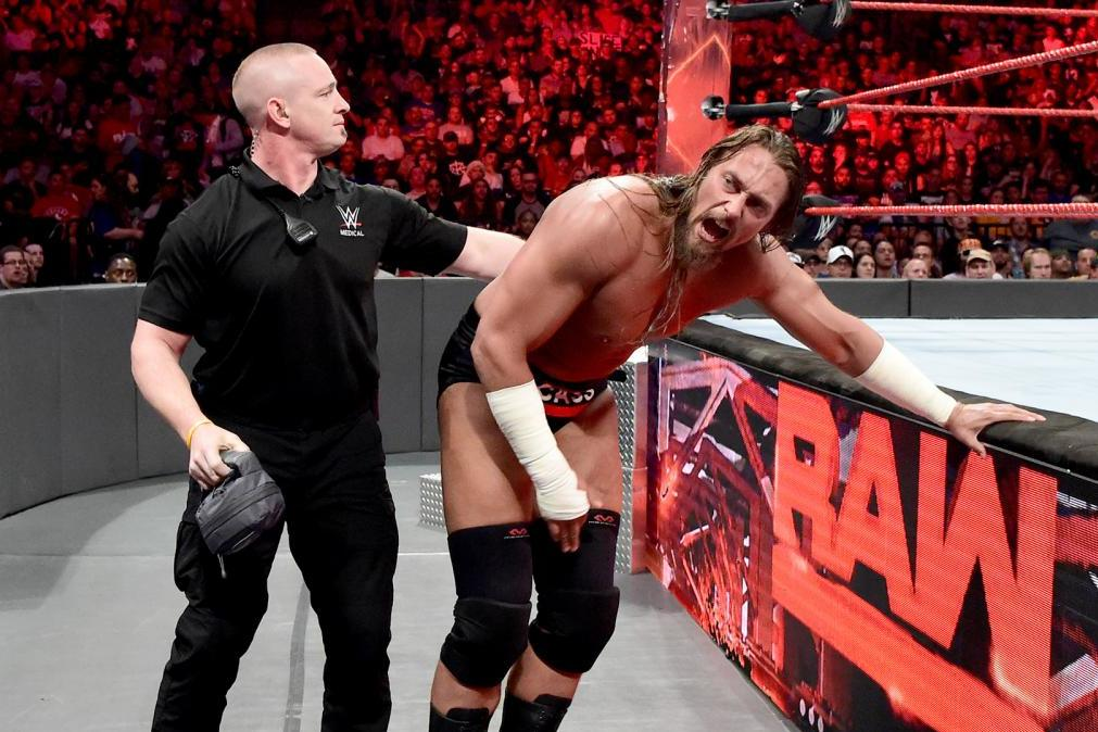 Image result for big cass knee injury