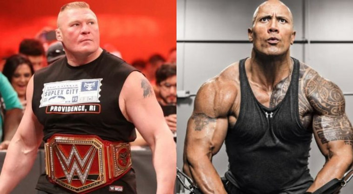 Brock Lesnar The Rock