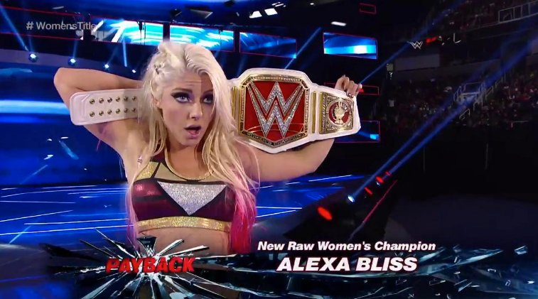 Image result for alexa bliss raw champion