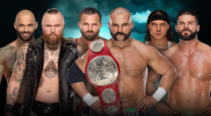 The Revival Ricochet  Aleister Black  Chad Gable  Bobby Roode