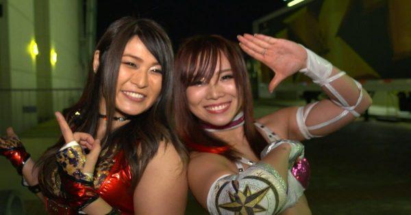 Io Shirai and Kairi Sane