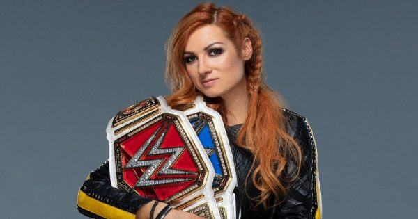 Becky Lynch in the WWE