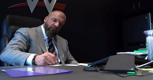 Triple H WWE Backstage