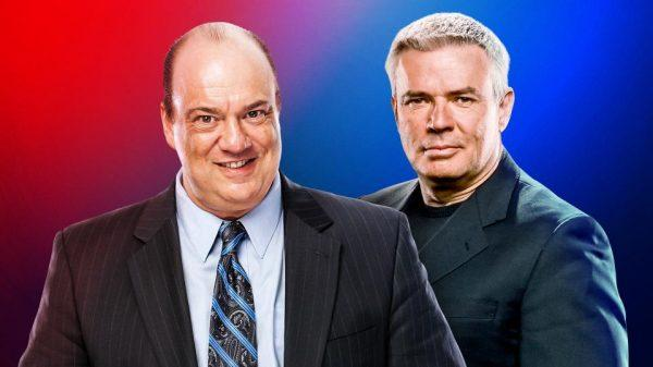 Paul Heyman & Eric Bischoff Executive Directors of RAW & SD LIVE