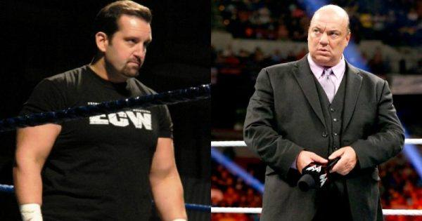 Tommy Dreamer and Paul Heyman