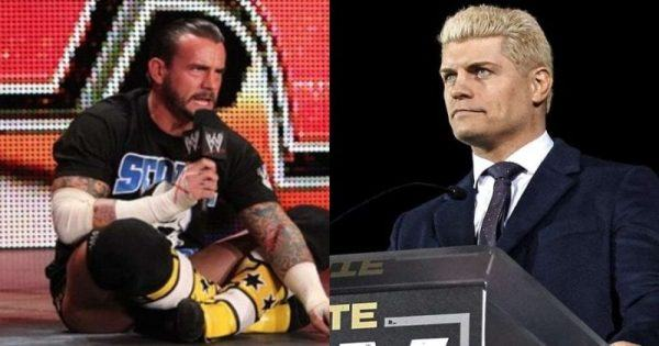 CM Punk and Cody Rhodes