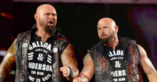Gallows & Anderson WWE