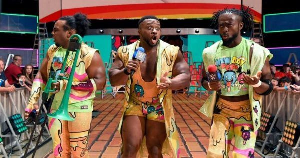Kofi Kingston, Xavier Woods and Big E