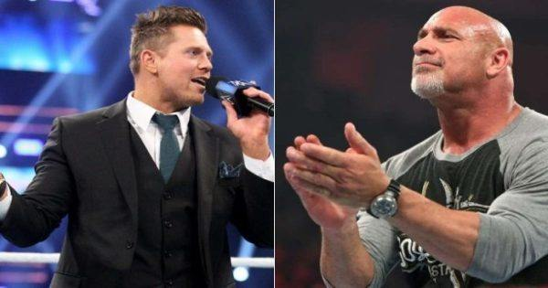 The Miz and Goldberg