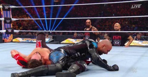 AJ Styles, Ricochet, Gallows & Anderson