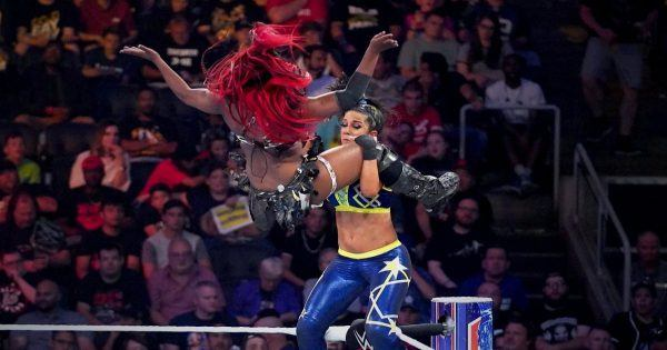 Ember Moon and Bayley