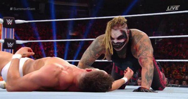 Bray Wyatt and Finn Balor