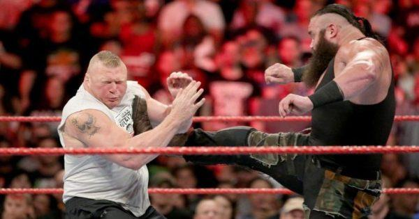 Brock Lesnar and Braun Strowman