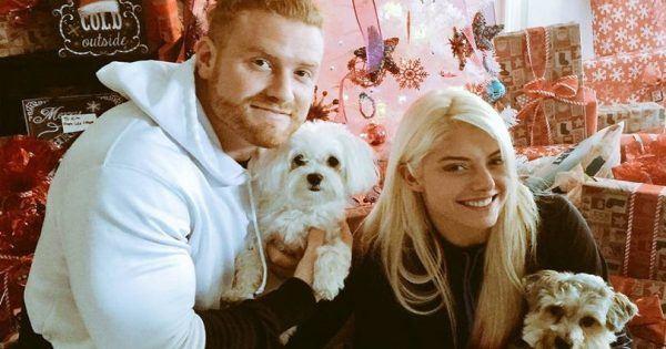 Buddy Murphy and Alexa Bliss