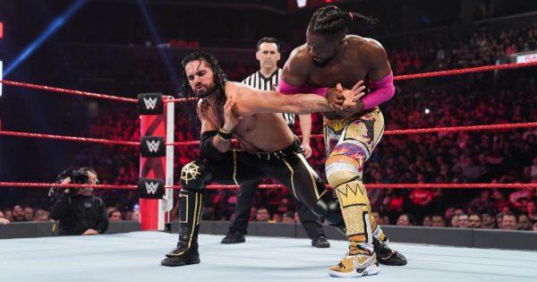 Kofi Kingston and Seth Rollins