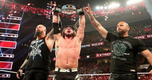 AJ Styles, Luke Gallows, And Karl Anderson