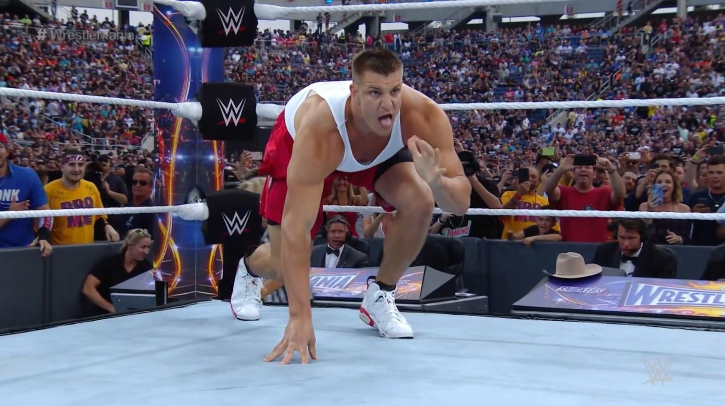 Rob Gronkowski Joining WWE