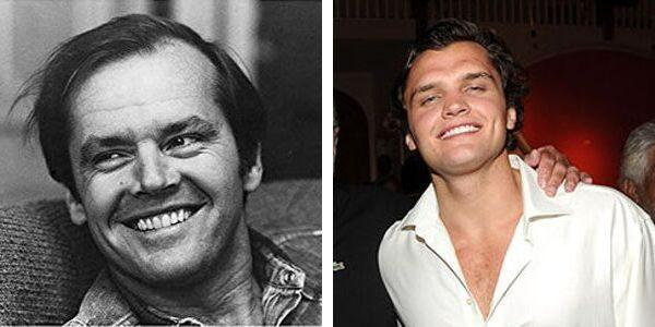 Celebrity kid lookalike Nicholson