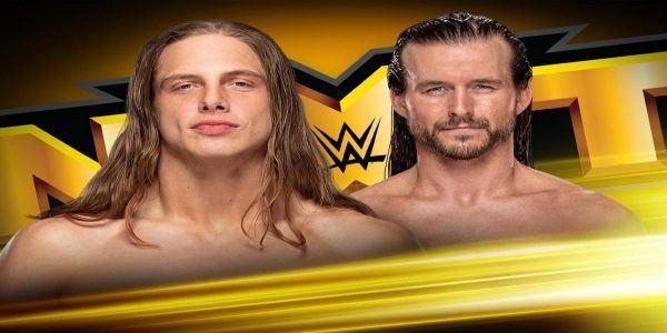NXT Adam Cole Matt Riddle