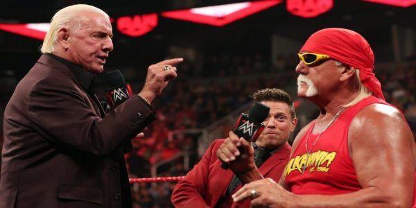 Hulk Hogan, Ric Flair and The Miz
