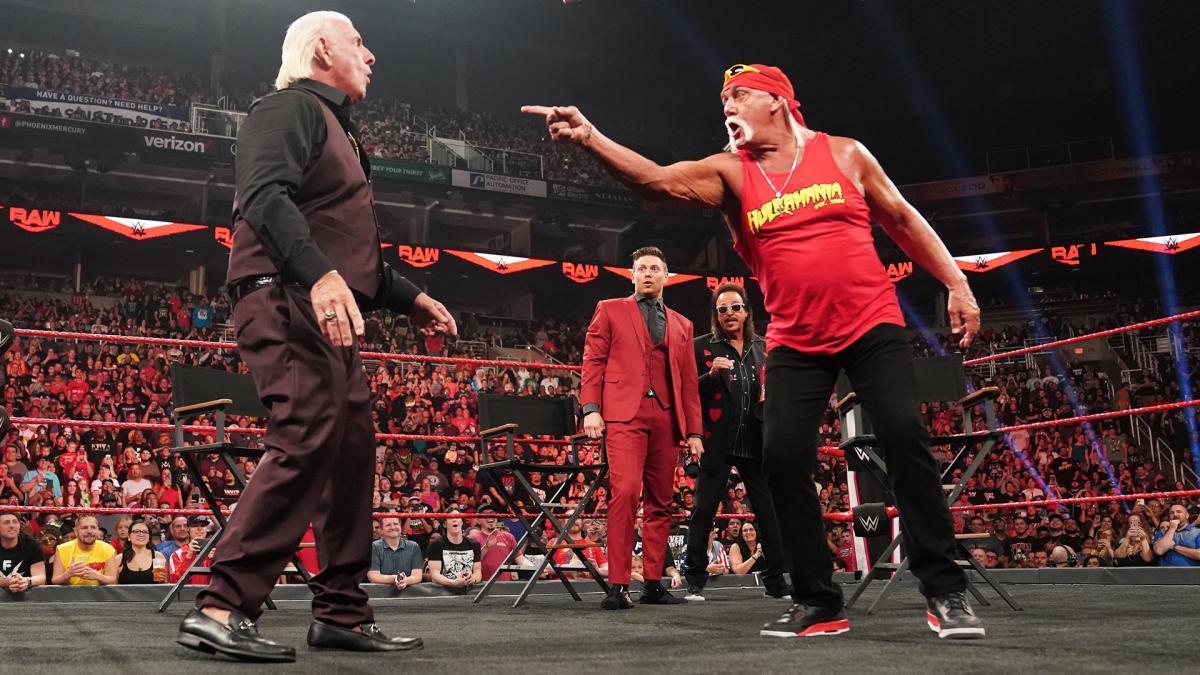 Ric Flair Challenges Hulk Hogan