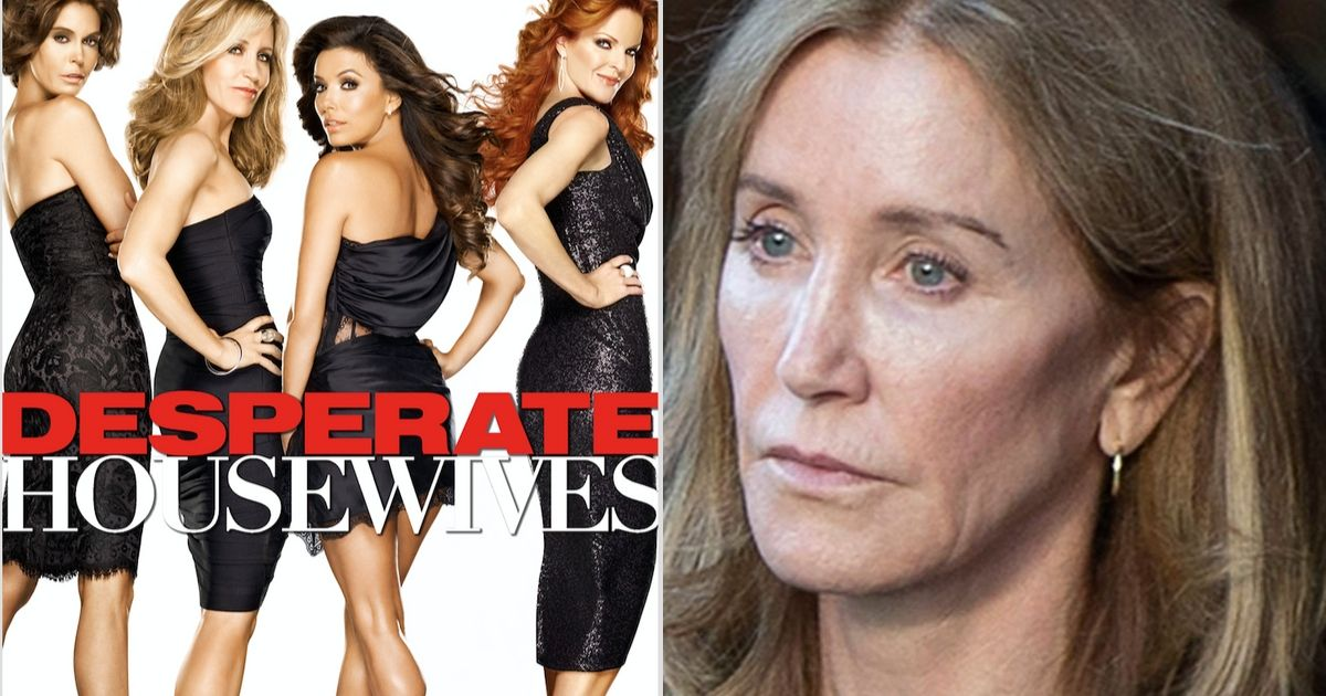 Felicity Huffman's 'Desperate Housewives' Costar Slams Her Two-Week Prison Sentence As 'White Privilege'