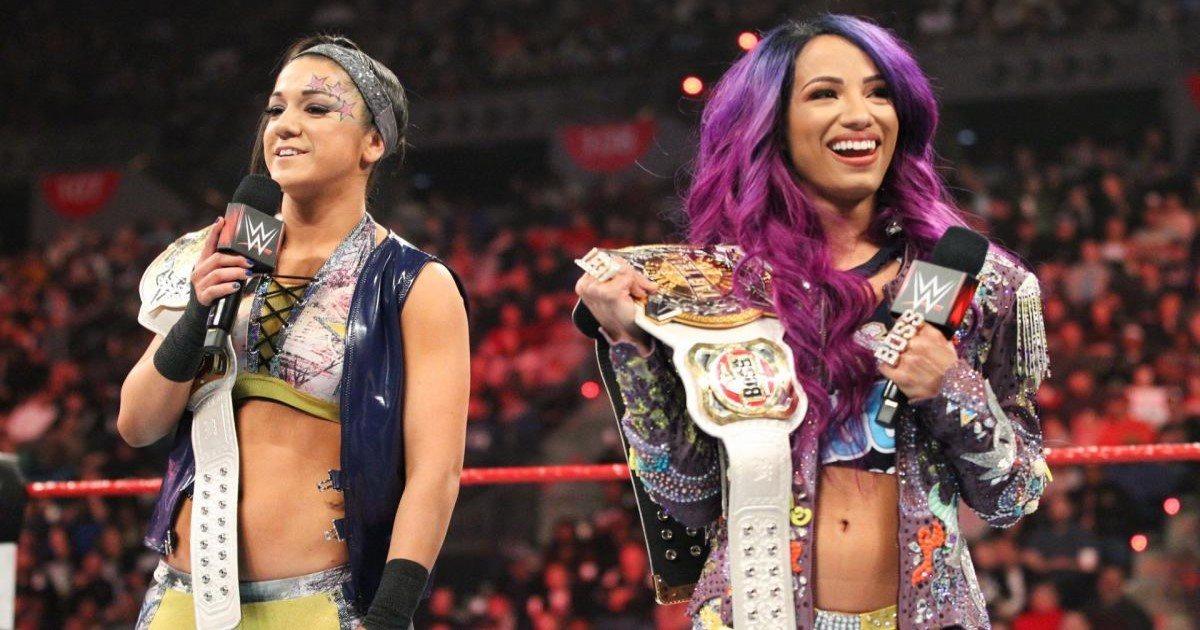 WWE Rumors Bayley and Sasha Banks