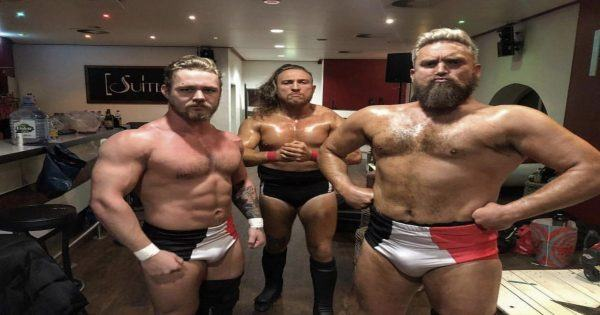 Tyler Bate, Trent Seven and Pete Dunne