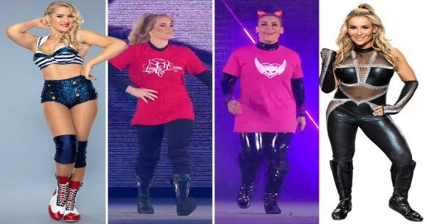 Lacey Evans and Natalya change outfits for Saudi Arabia pay-per-view