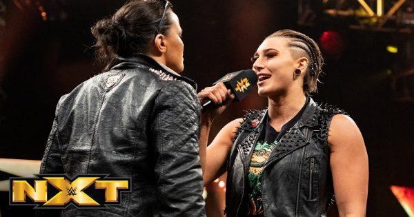 Rhea Ripley and Shayna Baszler in NXT