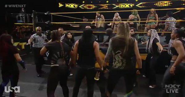 NXT Women's War Games