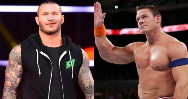 Randy Orton and John Cena