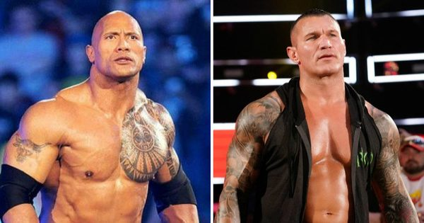 The Rock and Randy Orton