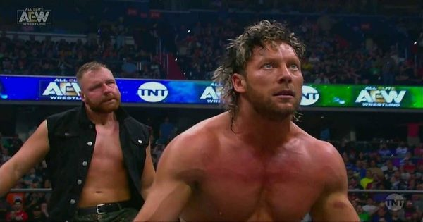 AEW's Jon Moxley and Kenny Omega