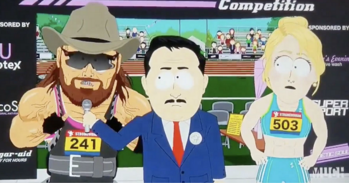 "South Park Triggers Liberals With Trans Athlete Based On Randy ""Macho Man"" Savage"