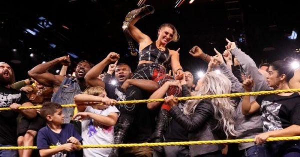 Rhea Ripley Wins NXT Women's Championship