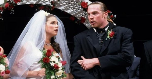 Stephanie McMahon and Test Wedding