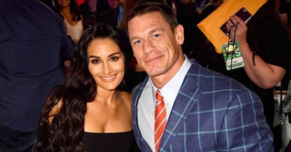 WWE John Cena and Nikki Bella