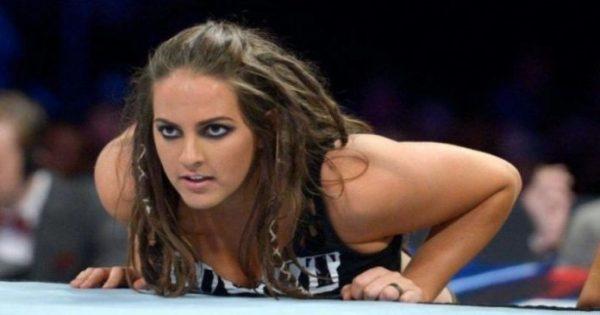 WWE superstar Sarah Logan