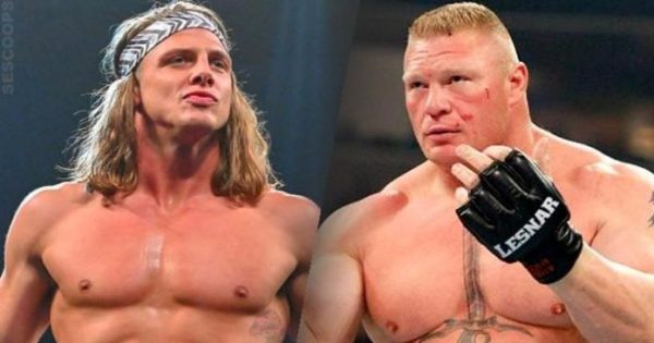 Brock Lesnar and Matt Riddle