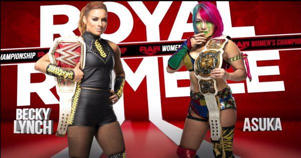 WWE Asuka Faces Becky Lynch At The Royal Rumble
