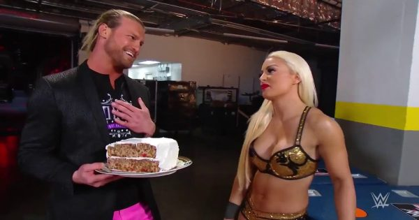 Dolph Ziggler and Mandy Rose