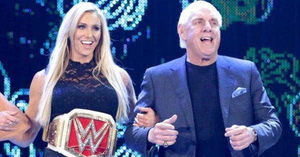 Charlotte Flair and Ric Flair