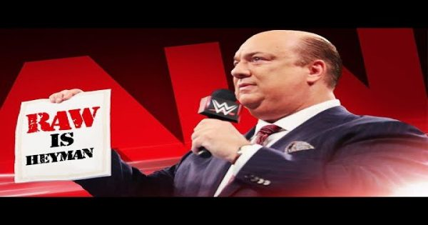 Paul Heyman as the Raw general manager