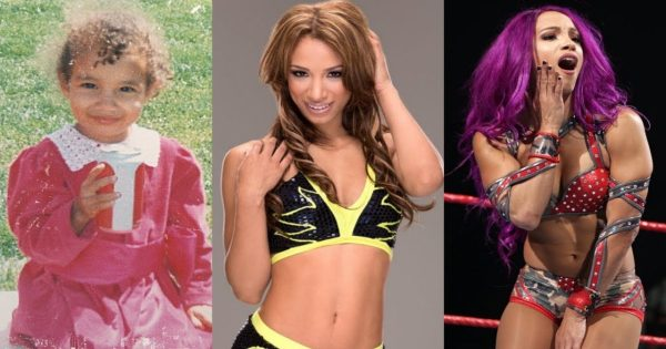 Sasha Banks Transformation
