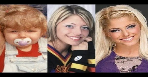 Alexa Bliss - Transformations of WWE superstars