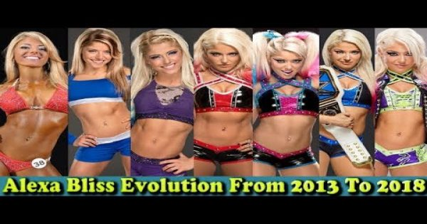Alexa Bliss transformations