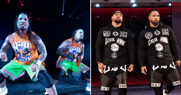 Transformations of WWE superstars - The Usos
